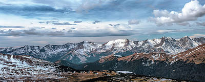 Photograph - Rocky Mountain Panorama by Susan Rissi Tregoning