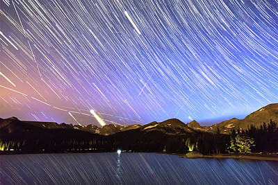 Photograph - Rocky Mountain Purple Rain by James BO Insogna