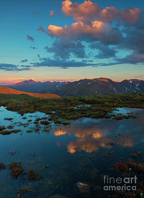 Photograph - Rocky Mountain Reflections by Mike Dawson