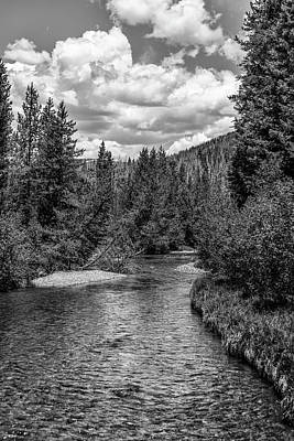 Photograph - Rocky Mountain River by John McGraw