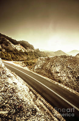 Tourism Photograph - Rocky Mountain Roads by Jorgo Photography - Wall Art Gallery
