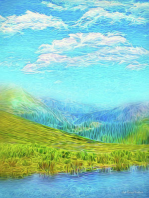 Digital Art - Rocky Mountain Sky by Joel Bruce Wallach