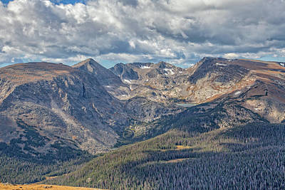 Photograph - Rocky Mountain Spendor by Ronald Lutz