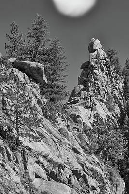 Photograph - Rocky Mountain St Vrian Pinnacle by James BO Insogna