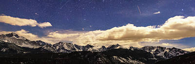 Rocky Mountain Star Gazing Panorama Print by James BO Insogna