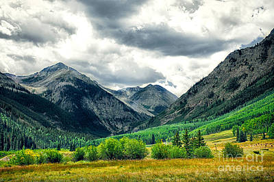 Photograph - Rocky Mountain Storm by Susan Warren