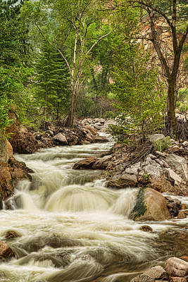 Photograph - Rocky Mountain Streamin Dreamin by James BO  Insogna