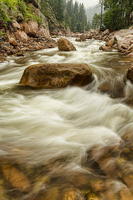 Rocky Mountain Streaming Art Print by James BO  Insogna