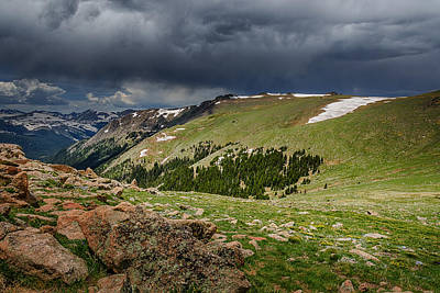 Photograph - Rocky Mountain Strorm by Mary Angelini