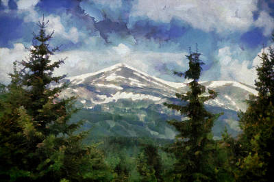 Digital Art - Rocky  Mountain Summer  by Ann Powell