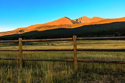 Photograph - Rocky Mountain Sunrise by Ben Graham
