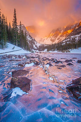 Rocky Mountain Sunrise Art Print by Steven Reed