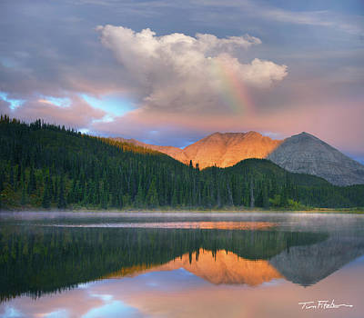 Rocky Mountain Art Print by Tim Fitzharris