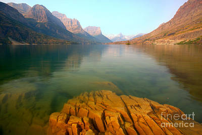 Photograph - Rocky Mountain Translucent Waters by Adam Jewell