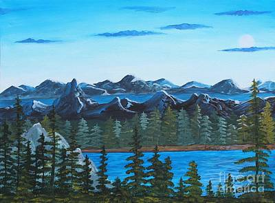 Painting - Rocky Mountain View by Barbara Griffin