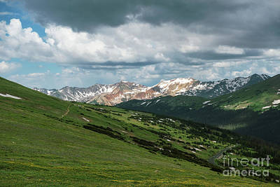 Photograph - Rocky Mountain View by Sharon Seaward