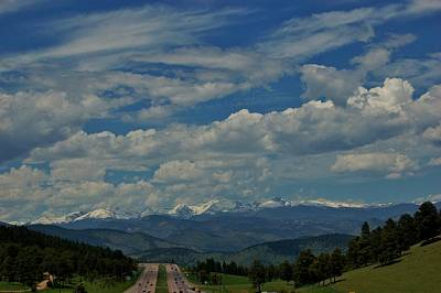 Photograph - Colorado Rocky Mountain High by Christopher James