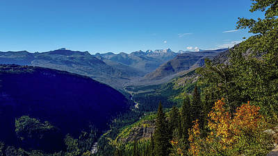 Photograph - Rocky Mountain Vista, Glacier National Park by Marilyn Burton