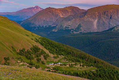 Photograph - Rocky Mountain Wilderness by Darren  White