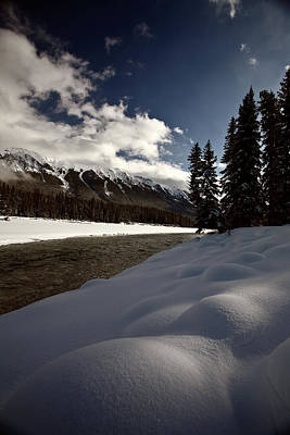 Rocky Mountain Winter Art Print by Mark Duffy