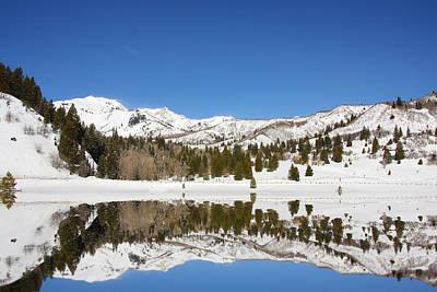Rocky Mountain Winter Original by Mark Smith