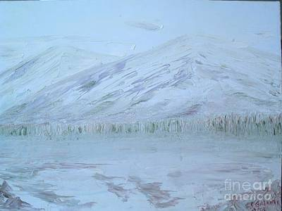 Painting - Mountain Winter by Paul Galante