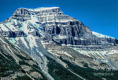 Photograph - Rocky Mountain With Snow_28bt  by Doug Berry