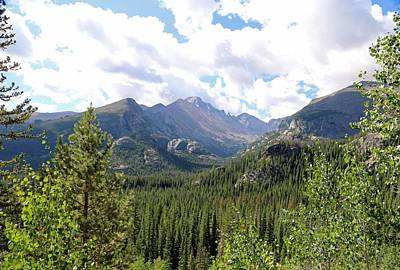 Photograph - Rocky Mountains 01 by Pamela Critchlow