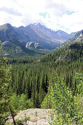 Photograph - Rocky Mountains 02 by Pamela Critchlow