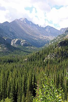 Photograph - Rocky Mountains 03 by Pamela Critchlow
