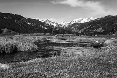 Photograph - Rocky Mountains by Amber Kresge