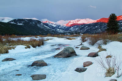 Big Thompson River Photograph - Rocky Mountains, Colorado by Ronda Kimbrow