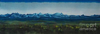 Rocky Mountains I Art Print