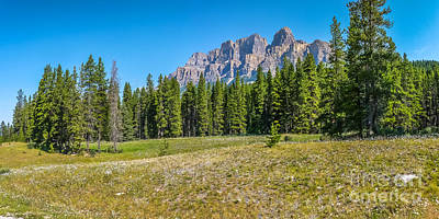 Photograph - Rocky Mountains Landscape by JR Photography