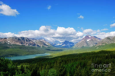 Photograph - Rocky Mountains Near Waterton Canada by David Arment