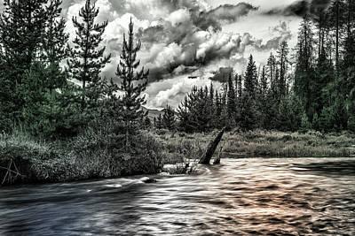 Photograph - Rocky Mountains by Thomas Schreiter
