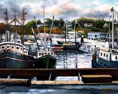 Painting - Rocky Neck, Gloucester by Eileen Patten Oliver