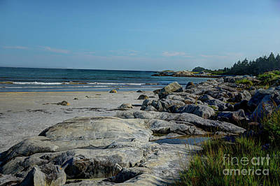 Photograph - Rocky Nova Scotian Beach by Jean Hutchison