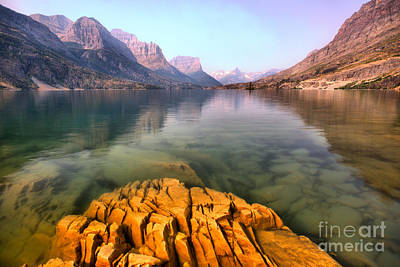 Photograph - Rocky Outcrop Below The Mountains by Adam Jewell
