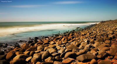 Photograph - Rocky Paradise 011 by Kevin Chippindall