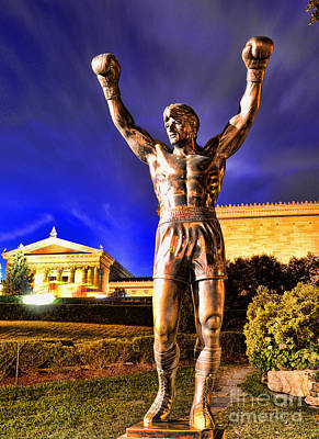 Rocky Art Print by Paul Ward