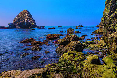 Photograph - Rocky Picific Coast Waters by Garry Gay