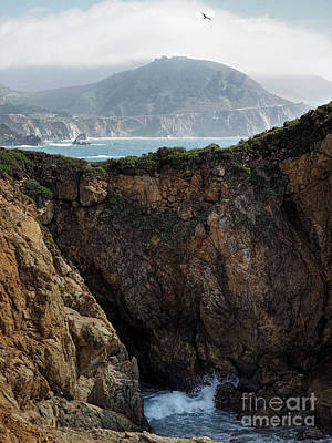 Photograph - Rocky Point, Big Sur, California  #30382 by John Bald
