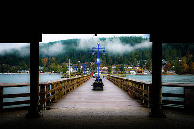 Photograph - Rocky Point Pier by Perggals - Stacey Turner