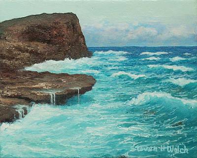 Rocky Point Art Print by Steven Welch