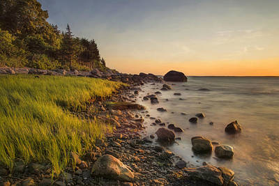 Photograph - Rocky Point Sunset by Robin-Lee Vieira