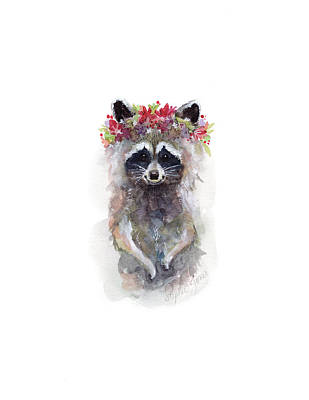 Rocky Raccoon Original by Stephie Jones