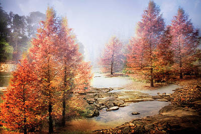Photograph - Rocky River In Fall by Debra and Dave Vanderlaan