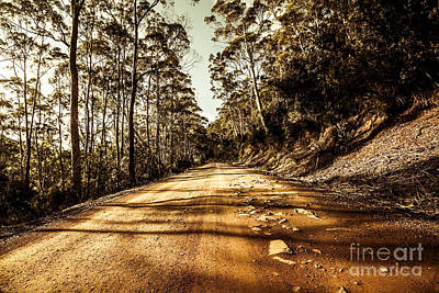 Gravel Road Photograph - Rocky Road by Jorgo Photography - Wall Art Gallery
