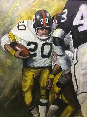 Pittsburgh Painting - Rocky by Ron  Genest